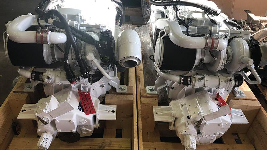 Réception de moteurs inverseurs